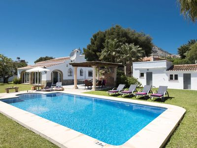 Photo for To Let. Beautiful holiday house in Javea, Costa Blanca for 6 people.