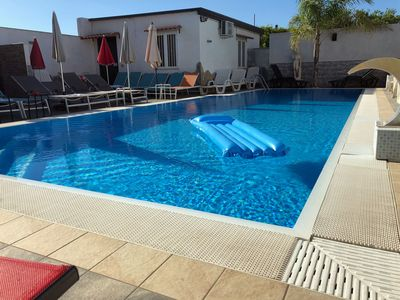 Photo for Apartment with pool near Scavi di Pompei, Naples. Up to 7 beds.