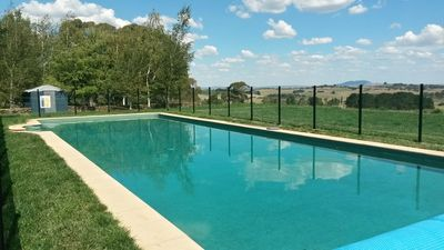 """Photo for Lovely """"Orangewood"""" Country Home - Pool & Views"""