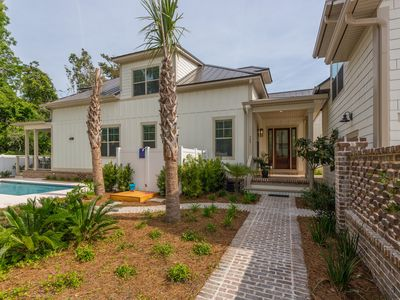 Photo for Steps to Village and Beaches! Pool! New Custom Home 6 Bedrooms, Sleeps 12