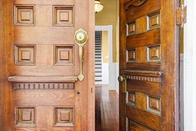 Entry door with Beautiful craftmanship