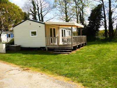 Photo for Camping Entre Terre et Mer *** - Mobile home 3 Rooms Comfort Plus 4 People