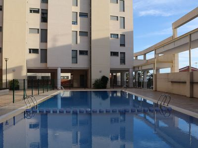 Photo for Nice apartment with ocean view and only 100 meters from the center of Calpe