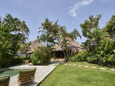 Photo for Tropical Traditional House with Tatched Roof in Trendy Spot of Seminyak