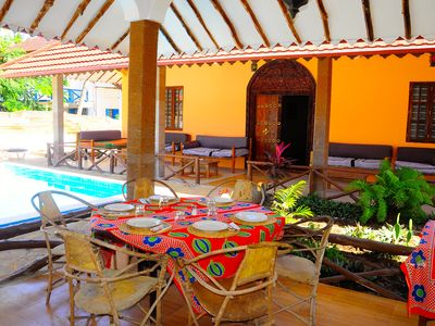 Photo for Cozy Guest house In Paje Beach