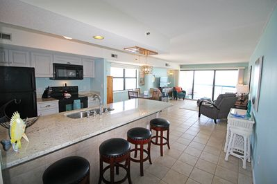 Panoramic view! Penthouse Privacy! Extra windows being an end unit! HUGE!!