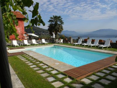 Photo for Lake Maggiori villa rentals, Italian Lakes villa rental, Lake Maggiori villa to let, villa with pool Lake Maggiori