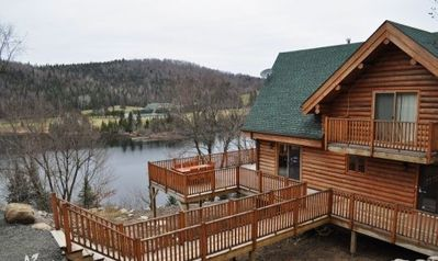 Photo for Chalet Bellevue - Waterfront 5 Bedroom Sleeps 16