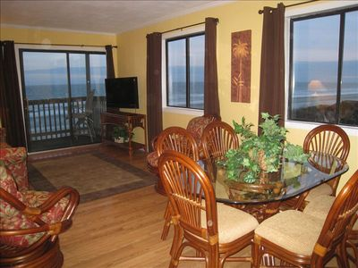 Photo for Oceanfront Panoramic Views, End Unit.  An Oceanfront Oasis.