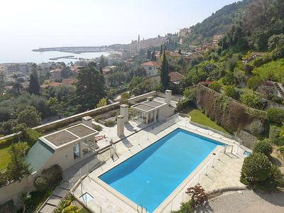 Photo for Apartment 541 m from the center of Menton with Internet, Pool, Lift, Parking (109581)