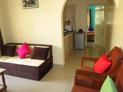 Photo for Apartment 487 m from the center of Calangute with Pool, Air conditioning, Parking, Balcony (646676)
