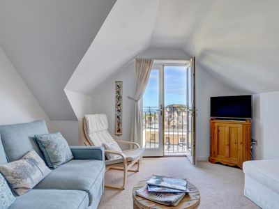 Photo for Centrally located apartment with stunning sea views