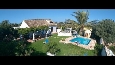 Photo for Traditional Spanish house with private pool near the beach...