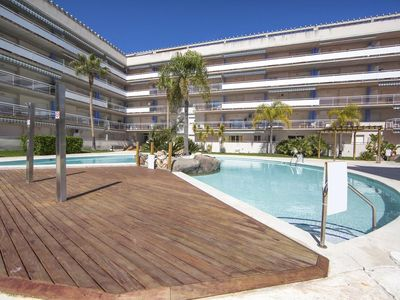Photo for Santa Margarida Rosas apartment 1200 meters from the beach