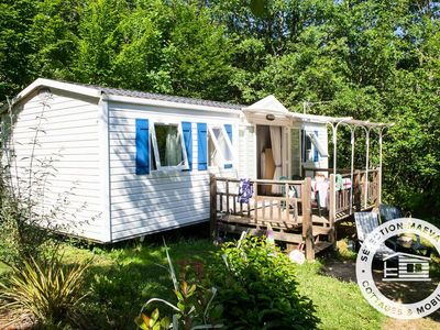 Photo for Camping La Linotte **** - Maeva Camping - Mobile Home 4 Rooms 6/7 People