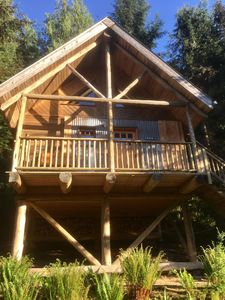Photo for Wildwood - Classic, west coast log cabins on 5 private, forested acres