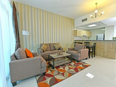 Photo for Deluxe 2 - bedroom apartment in the heart of Marina