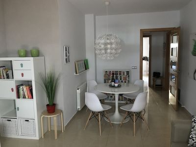 Photo for Great apartment in centre of Sitges with a large terrace, 100 m from beach