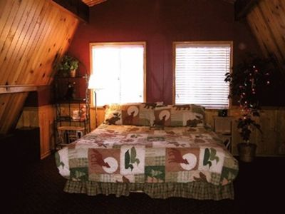 Photo for Adorable Cozy Cabin- Gateway To The Forest, Close To Everything !