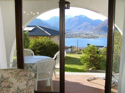 Photo for 1BR Apartment Vacation Rental in Gambarogno