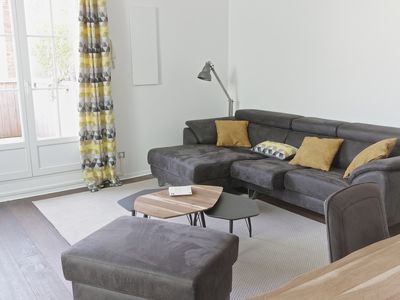 Photo for Charming 77m2 apartment with terrace and parking