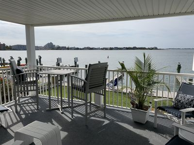 Photo for Bay Front 3 Bedroom-2 Bath Condo Renovated with BOAT SLIP - Partial Week Rental