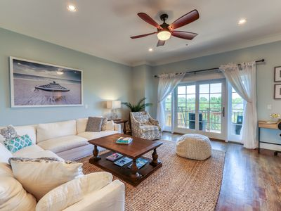Photo for NEW LISTING! Stunning coastal retreat w/balconies & pool table -close to beaches