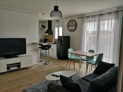 Photo for F2 furnished, terrace, air conditioning