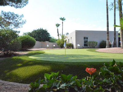 Photo for Palms Oasis in North Scottsdale - Sparkling Pool, Golf, Hammock & Sun