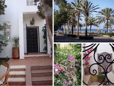 Photo for BEAUTIFUL HOUSE Residential District CHARAF AGADIR flowery Garden Terrace Patio
