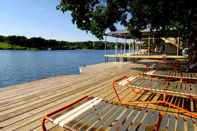 Lakeside relaxation doesn't get any better than this!