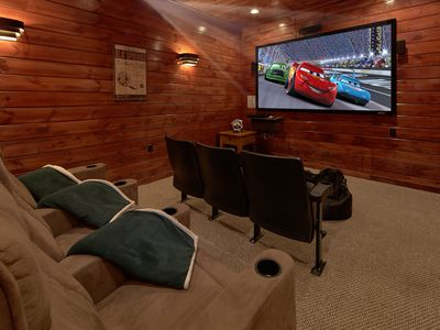 Photo for 3 Bedroom Gatlinburg Cabin with Home Theater Room