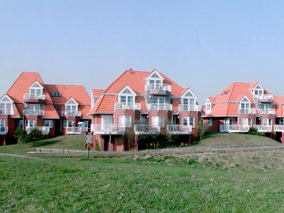 Photo for Apartment with an unobstructed view of the Wadden Sea (last House at the top)