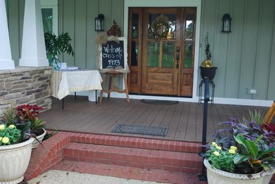 A great place for you to host your class reunion.  Call or email for venue price