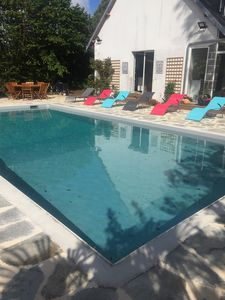 Photo for SAINT QUAY PORTRIEUX, renovated house + heated pool, 10x5, near harbor and beach