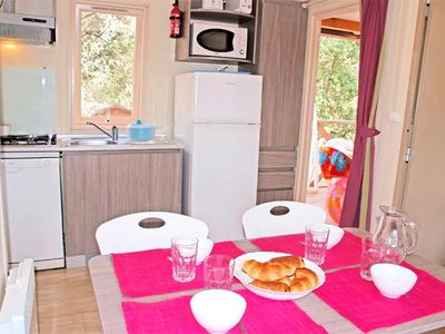 Photo for Camping Les Cigales **** - Mobile home Georgia 3 Rooms 4 Persons