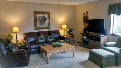 Photo for Spacious Condo w/ FREE WiFi, Parking, Heated Pool, Hot Tubs, Skier Shuttle,