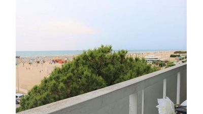 Photo for Sea View Spectacular Beachfront - Beach place with umbrella included