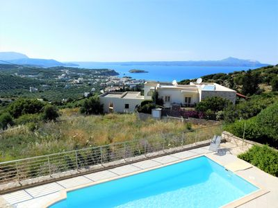 Photo for Villa Almythea with Private Pool. Walk to beach and amenities in Almyrida.