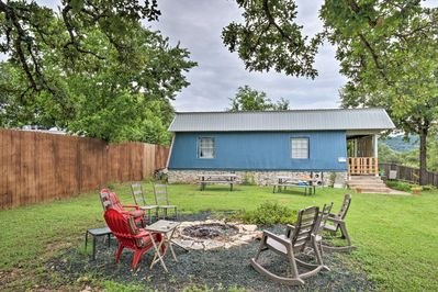 Lake living and backyard lounging await at this Austin duplex!