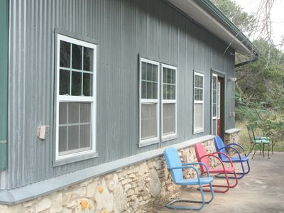 Photo for Sugar Shack- A Sweet Hill Country Cabin