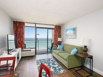 Photo for Breathtaking Views Direct Oceanfront 1bd Condo with lots of Upgrades for 2019