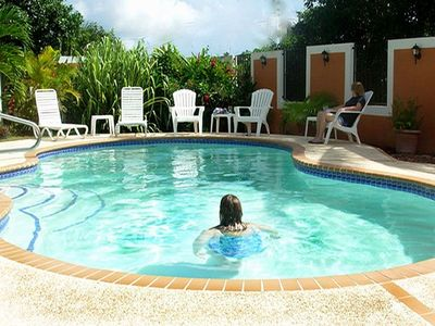 Photo for Comfortable Home With Private Pool, Near Beaches, Rain Forest