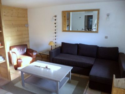 Photo for Bourg St Maurice: charming apartment for 4/5 people. Alt 900 m to Seez