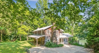 Photo for Pot Point Cabin, Historic Log Cabin On The Tennessee River.  50% Down to Reserve.