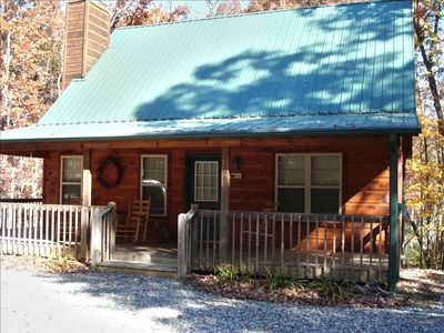 Photo for Get Away from it All in This Immaculate Cabin in the Woods