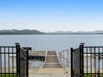Photo for NEW LISTING! Lakefront retreat w/magnificent lake view - family dog is welcome!