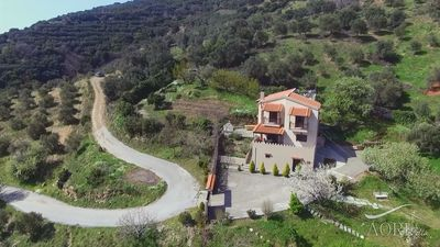 Photo for AORI hillside villa - Escape to the real Crete