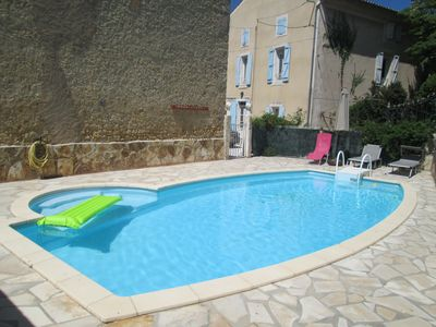 Photo for Charming house with private swimming pool near Valras-plage and Béziers