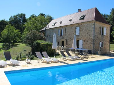 Photo for Renovated character houses with private pool